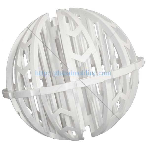 spherical plastic random dump tower packing media