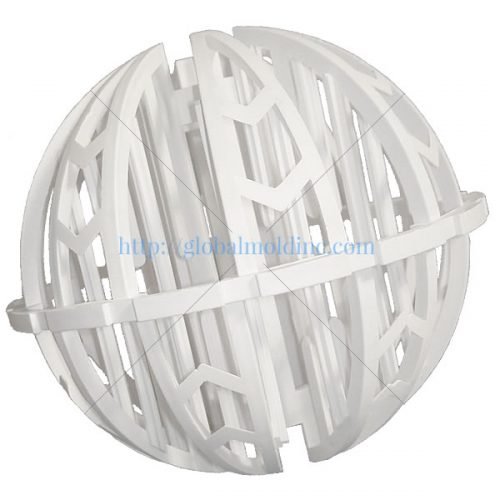 spherical plastic random dump tower packing media